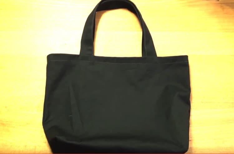 マチ 付き トート バッグ 作り方 横マチつきでたっぷり入る!布製エコバッグの作り方